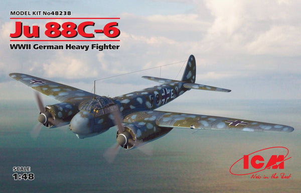 ICM48238 - (1/48) JU  88C - 6 /  World War II Heavy Fighter