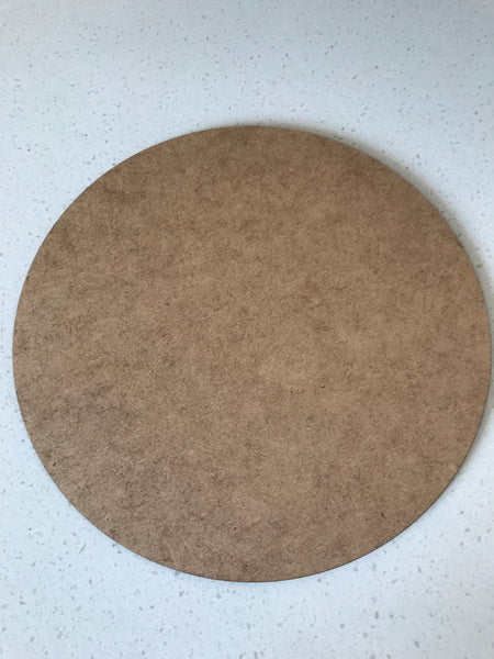 3 mm x 20 cm Laser Cut Round Circles - EACH