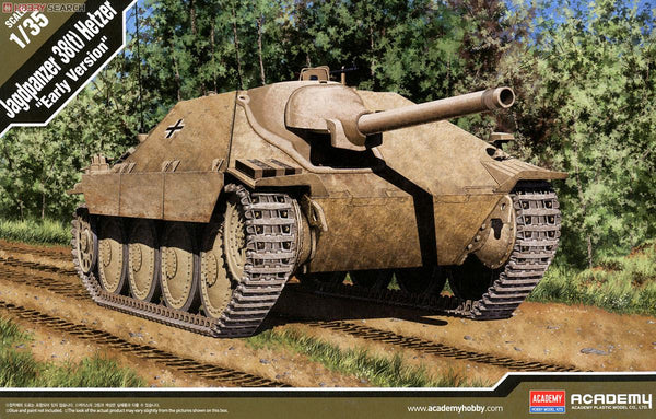 "ACA13278 - Academy 1/35 Jagdpanzer 38 (t) Hetzer ""Early Version"""