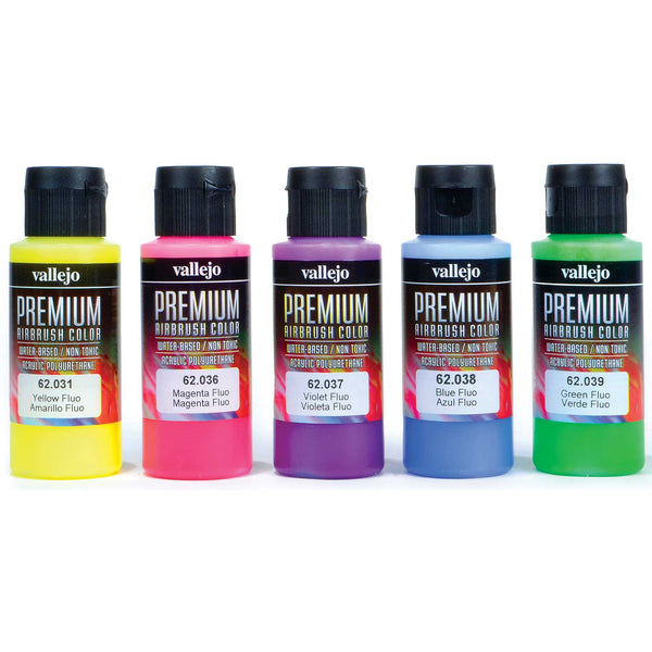 62.102 - Premium Fluo Color - 5 x 60 ml