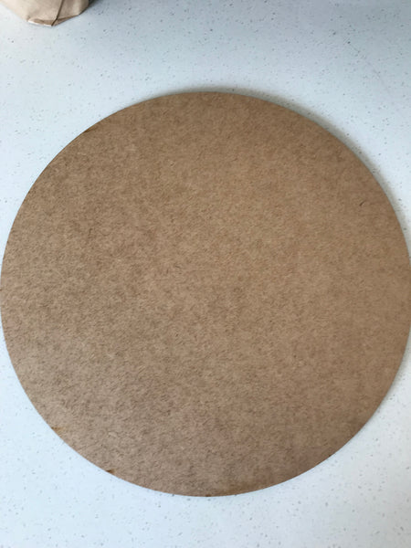 3 mm x 30 cm Laser Cut Round Circles - EACH