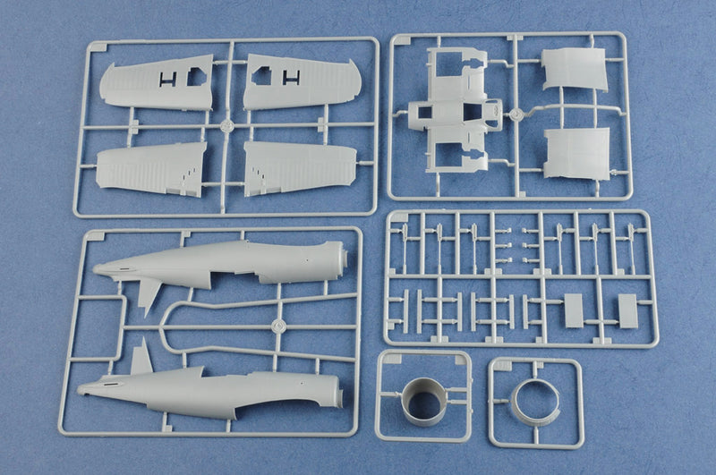 80382 - Hobby Boss 1/48 US F4U-1 Corsair Fighter (Late Version)