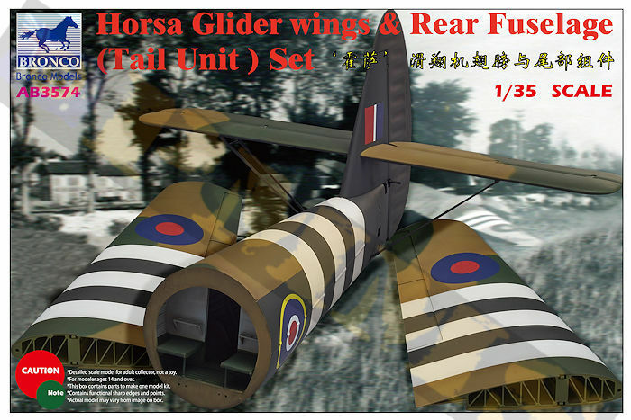 CB3574 - Bronco 1/35 Tail Section - Airspeed Horsa Glider Mk I