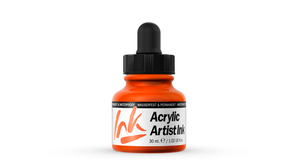60.003 - Acrylic Artist Ink - 30 ml - Orange
