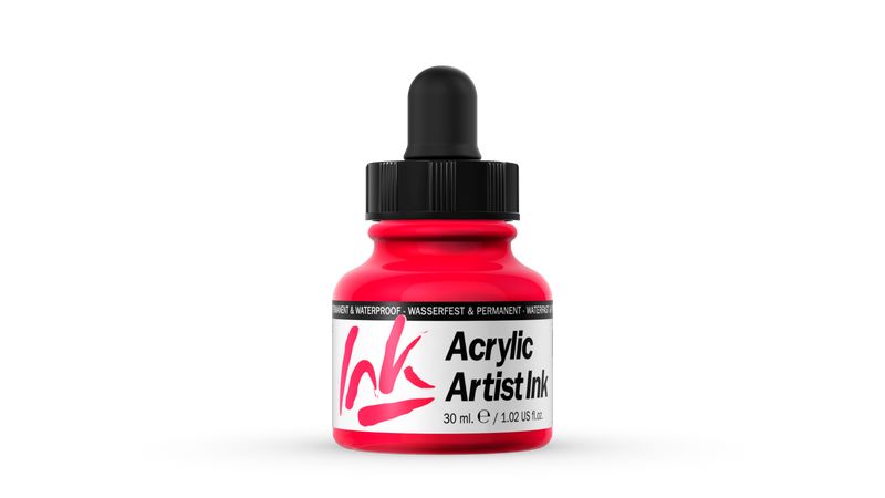 60.004 - Acrylic Artist Ink - 30 ml - Red