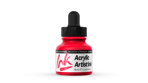 60.005 - Acrylic Artist Ink - 30 ml - Carmine Red