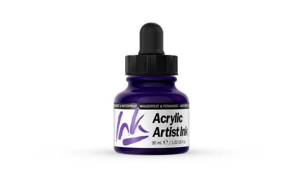 60.007 - Acrylic Artist Ink - 30 ml - Violet