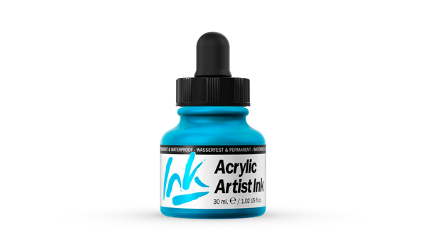 60.010 - Acrylic Artist Ink - 30 ml - Light Blue