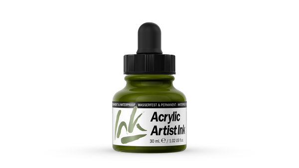 60.012 - Acrylic Artist Ink - 30 ml - Green