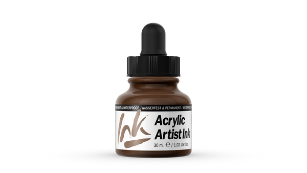 60.017 - Acrylic Artist Ink - 30 ml - Umber