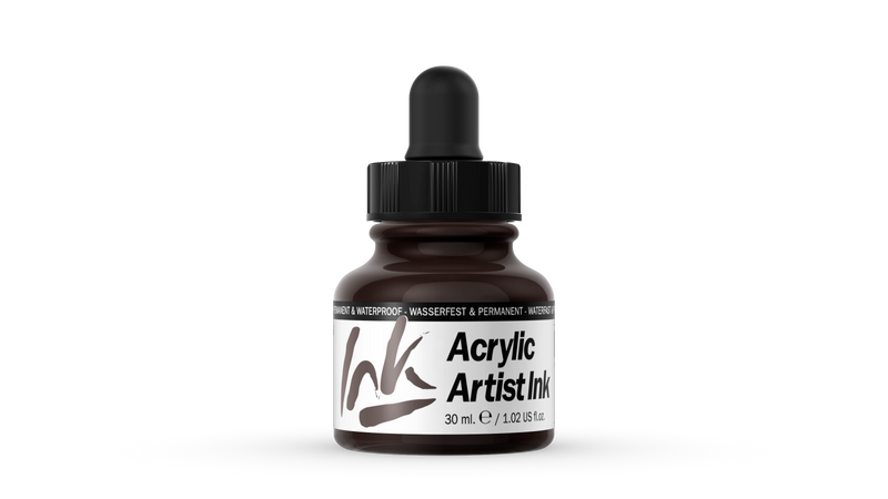 60.018 - Acrylic Artist Ink - 30 ml - Sepia