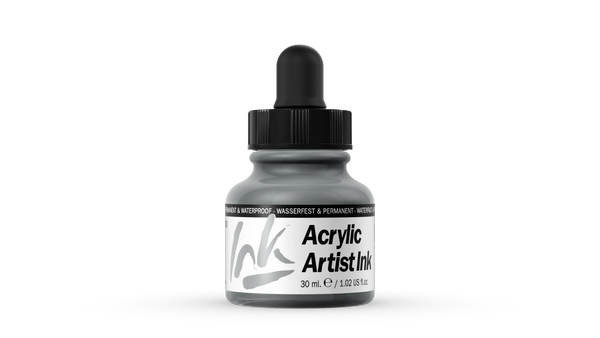 60.020 - Acrylic Artist Ink - 30 ml - Silver