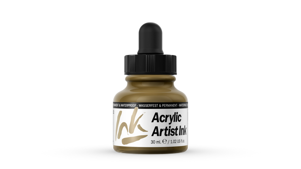 60.022 - Acrylic Artist Ink - 30 ml - Gold