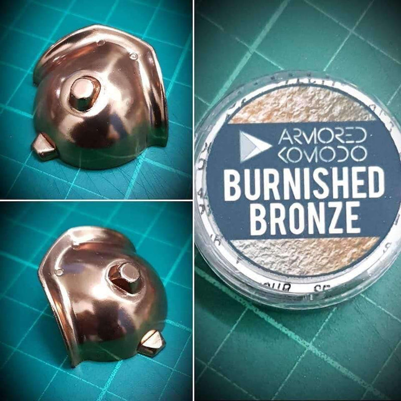Armored Komodo - Burnished Bronze Chromaflair Pigment