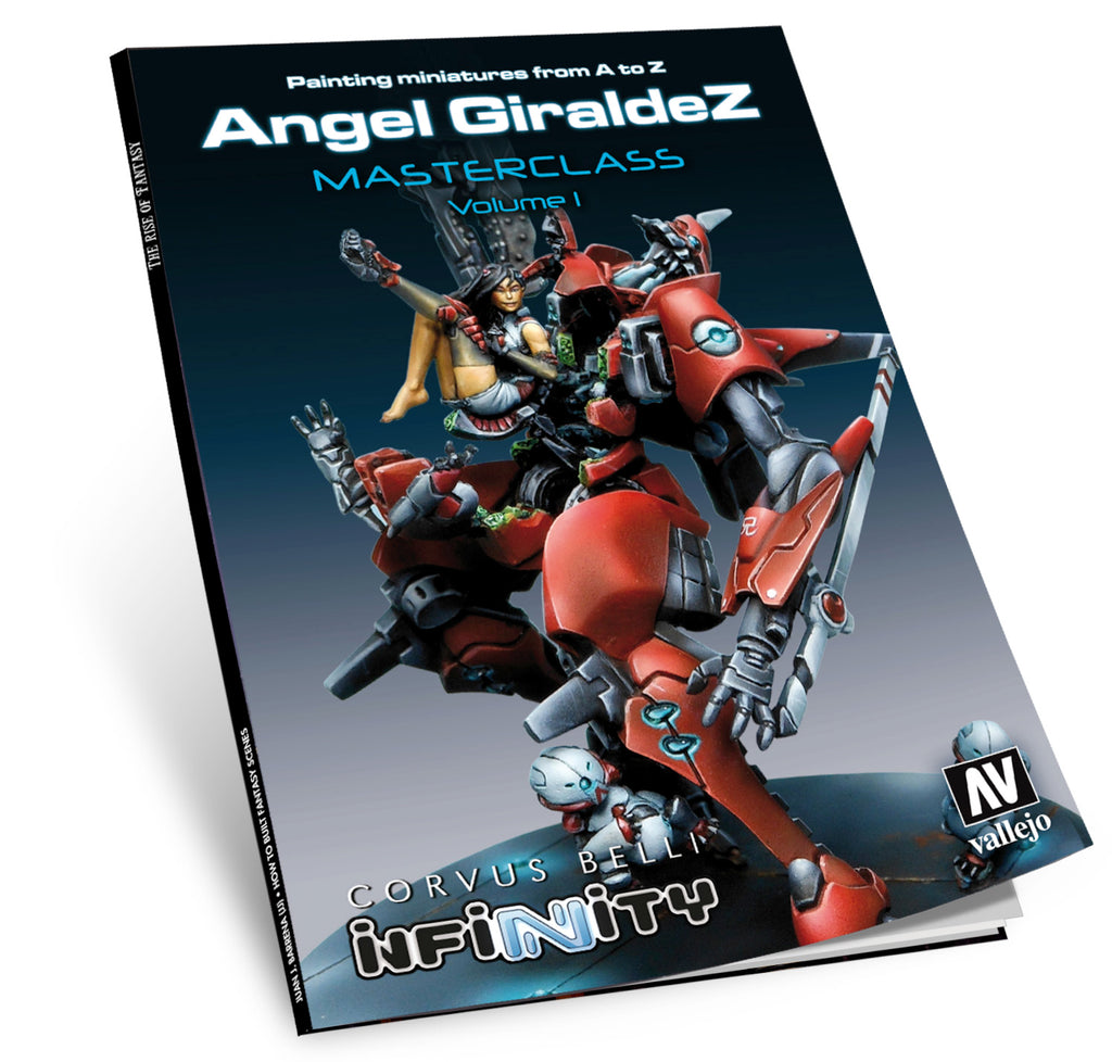 75.003 - Painting Miniatures From A - Z by Angel Giraldez - Masterclass Vol 1