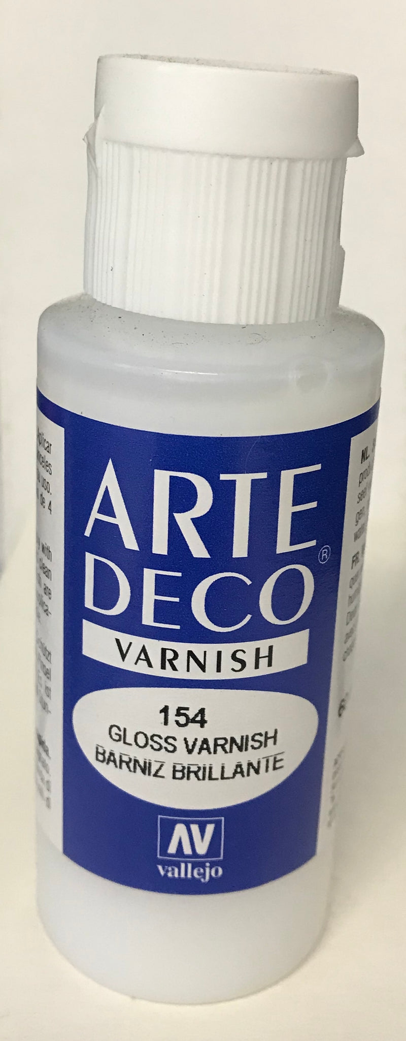 84.154 - Gloss Varnish - Arte Deco - 60 ml