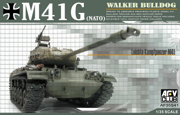 AF35S41 - AFV Club 1/35 German M41(G) Walker Bulldog Tank (NATO)