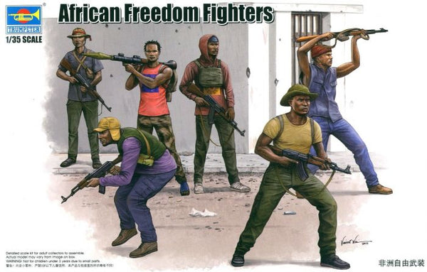 00438 - Trumpeter African Freedom Fighters (6 Figures)