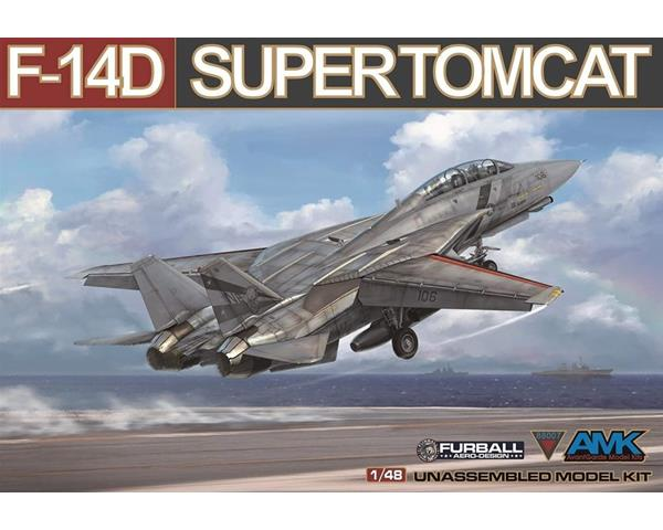 "AMK88007 - US Air Force Grumman F-14D ""Super Tomcat"" Fighter"