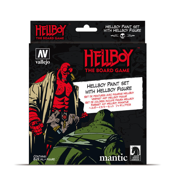 70.187 - Hellboy Paint Set (8) - Vallejo Model Color Set