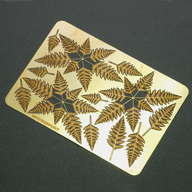 S-008 - Fern - Photo Etch set - Size M - 70 x 100 mm