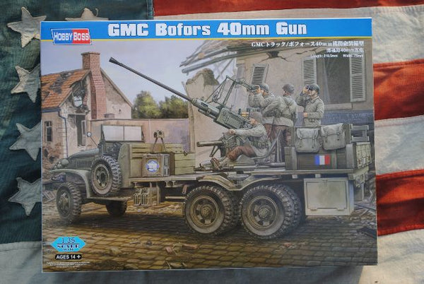 82459 -  Hobby Boss US Army GMC Truck w/Bofors 40 mm Gun