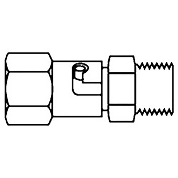 HF-185 -  Paasche 1/4 inch detachable coupling