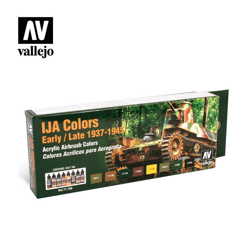 71.160 IJA Colors Early/Late - Vallejo Model Air Set