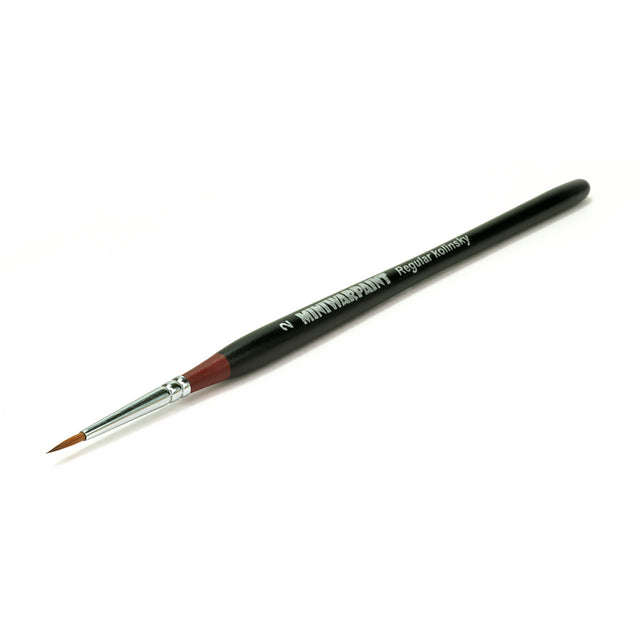 T-004 - Brush Mini War Paint -  Kolinsky Brush No. 2