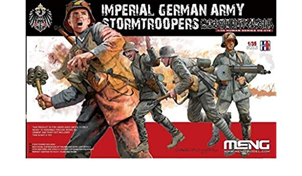 "MHS010 - Imperial German Army WWI ""Stormtroopers"" ( 4 Figures )"