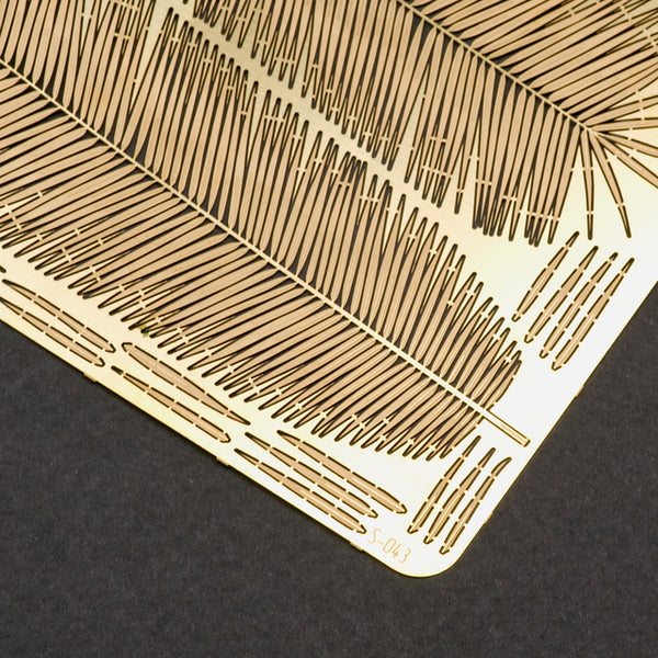 S-043 - Palm Leaves - Photo Etch set - Size M - 70 x 100 mm