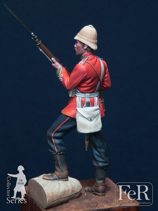 DZS00004 - Private, 24th Regiment of Foot, Rorke's Drift, 1879 (Scale 54 mm)