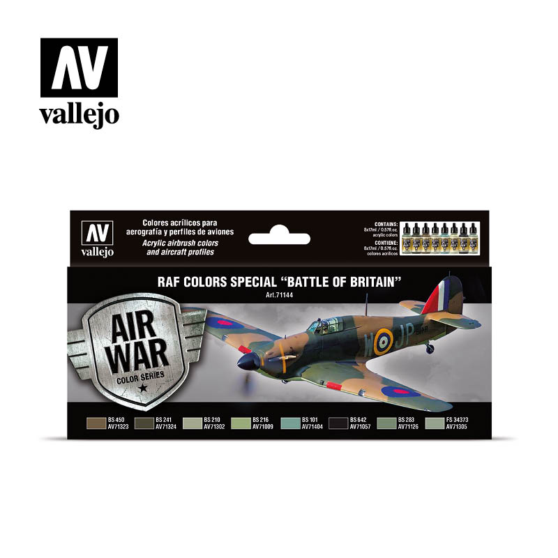 71.144 SPECIAL BATTLE OF BRITAIN - Vallejo Model Air Set