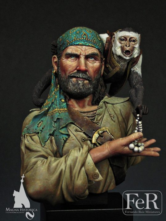 MHB00003 - Rogue Pirate, La Esponola, 1670 (Scale 1/12)