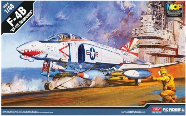 ACA12232 - 1/48 Academy F-4B Phantom Sundowners