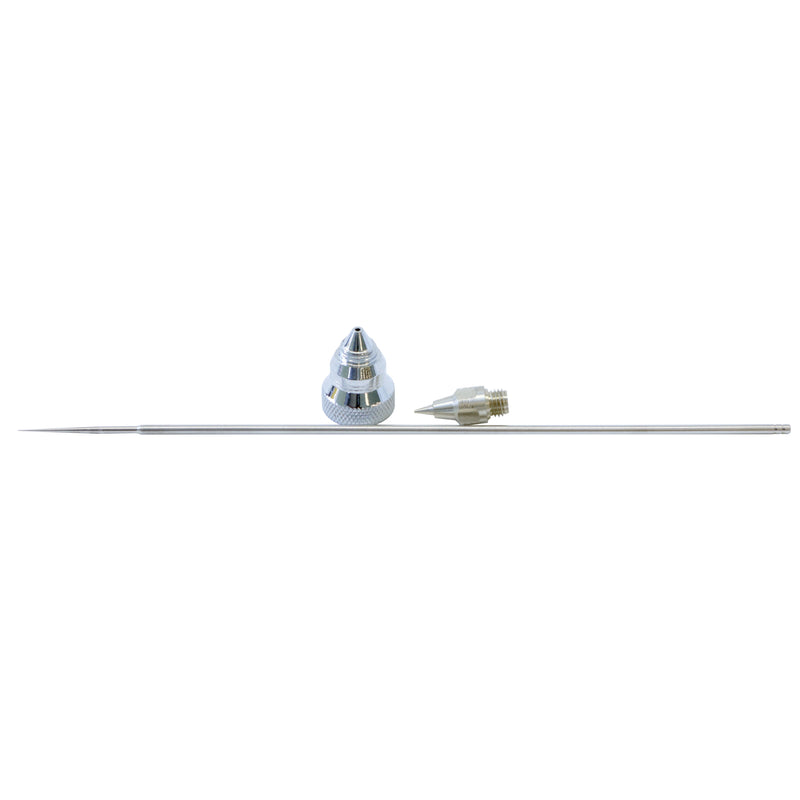 T-227-2 - Paasche Size 2 (0.38 mm) tip, needle and aircap