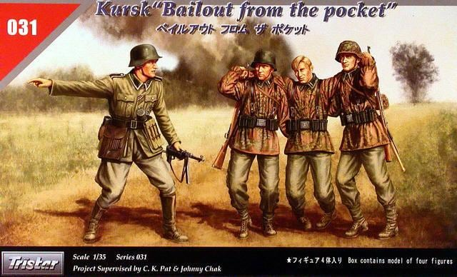 "TS35031 - Tristar 1/35 German Kursk "" Bailout From The Pocket "" (4 Figures)"