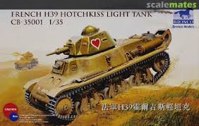 CB35001 - Bronco 1/35 French H39 Hotchkiss Light Tank
