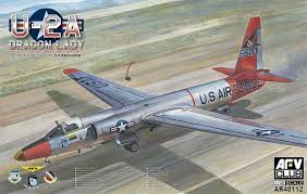 "AF48112 -  AFV Club 1/48 USS Lockheed U-2A ""Dragon Lady"" High-Altitude Reconnaissance Aircraft"