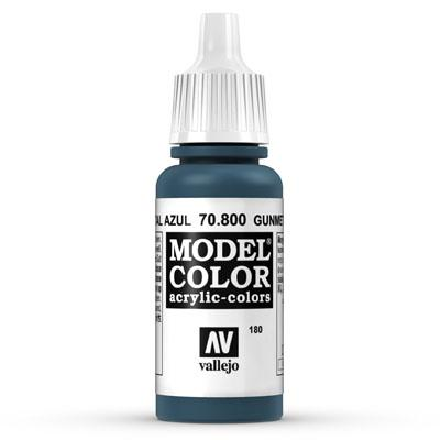 70.800 Gunmetal Blue (Metallic) - Vallejo Model Color - Supernova Studio
