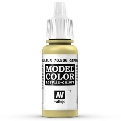 70.806  German Yellow (Matt) - Vallejo Model Color