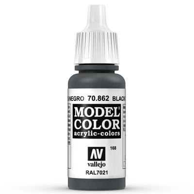 70.862 Black Grey (Matt) - Vallejo Model Color