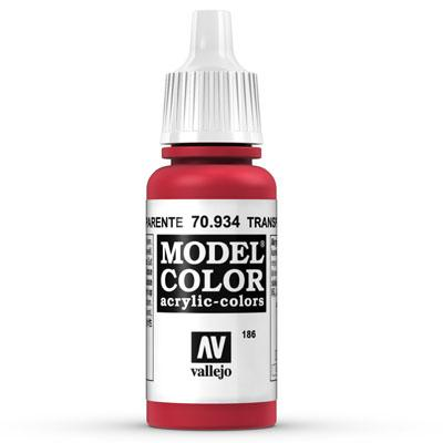 70.934 Transparent Red (Transparent) - Vallejo Model Color - Supernova Studio
