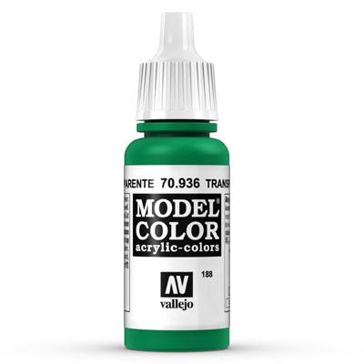 70.936 Transparent Green (Transparent) - Vallejo Model Color - Supernova Studio