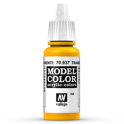 70.937 Transparent Yellow (Transparent) - Vallejo Model Color - Supernova Studio