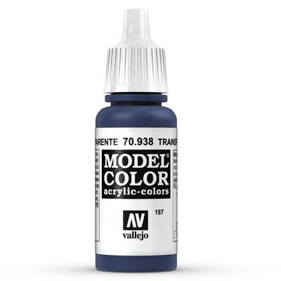 70.938 Transparent Blue (Transparent) - Vallejo Model Color - Supernova Studio