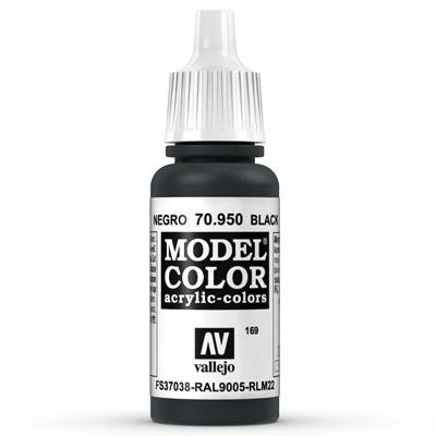 70.950 Black (Matt) - Vallejo Model Color - Supernova Studio
