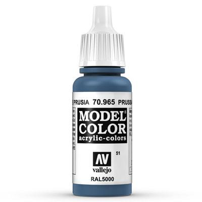 70.965 Prussian Blue (Matt) - Vallejo Model Color - Supernova Studio