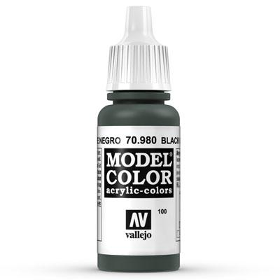 70.980 Black Green (Matt) - Vallejo Model Color - Supernova Studio