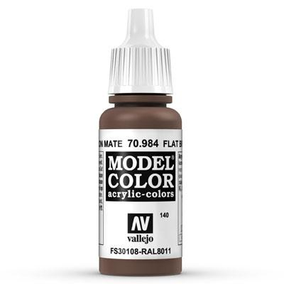 70.984 Flat Brown (Matt) - Vallejo Model Color - Supernova Studio